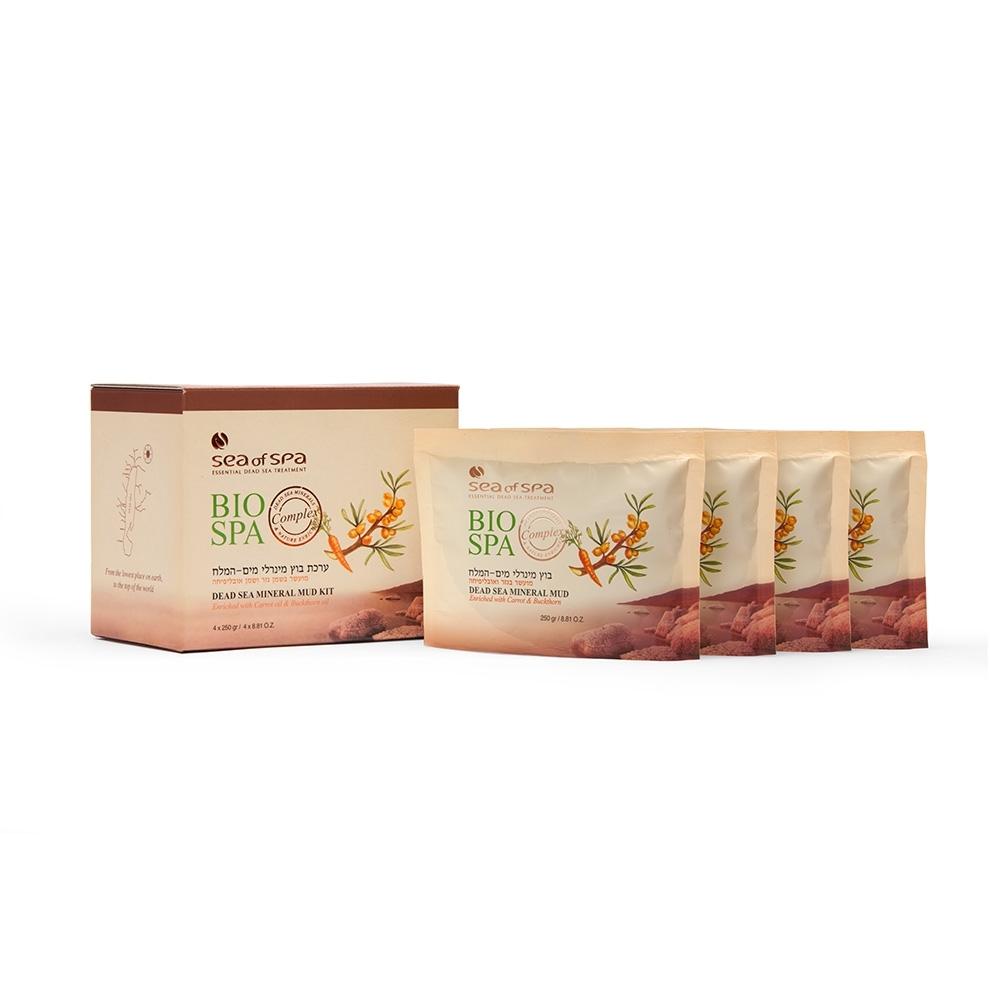 Sea of Spa 胡蘿蔔與沙棘油礦物泥 – 250 g(單包裝)
