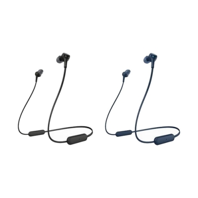 SONY無線藍牙耳道式耳麥WI-XB400 送贈品2選1