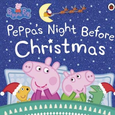 Peppa Pig:Peppa s Night Before Christmas 佩佩豬的平安夜平裝故事書