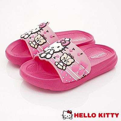 HelloKitty童鞋 超輕量拖鞋款 EI18189粉(中小童段)