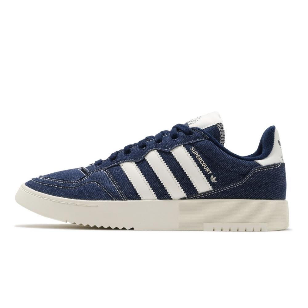 ADIDAS SUPERCOURT 男休閒鞋-藍-FW4425