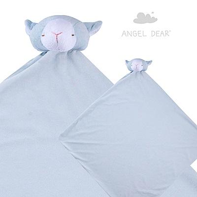 美國 Angel Dear 大頭動物嬰兒毛毯 (藍色小羊)