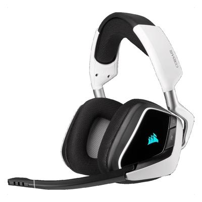 CORSAIR 海盜船 VOID RGB ELITE Wireless耳麥/白/無線/USB/CA-9011202-AP