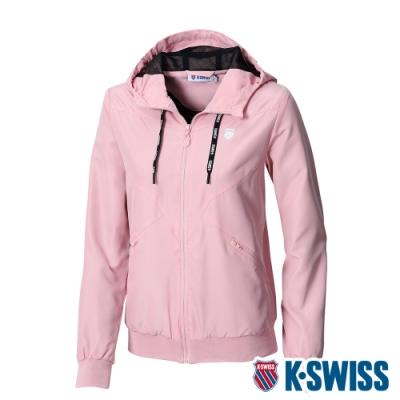 K-SWISS Ct Solid Jacket 1風衣外套-女-粉紅