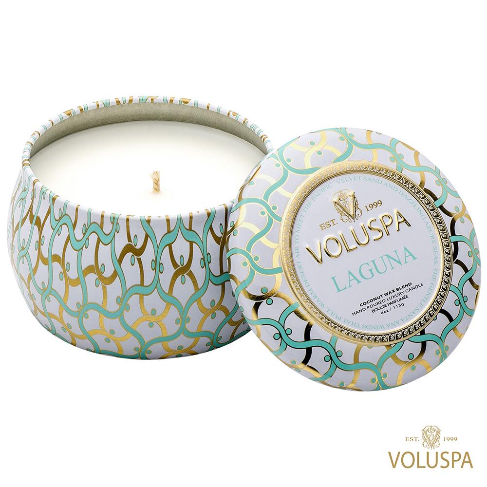 美國香氛VOLUSPA 白屋系列 Laguna 拉古納 113g