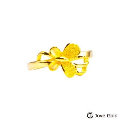 Jove Gold 漾金飾 綺麗黃金戒指