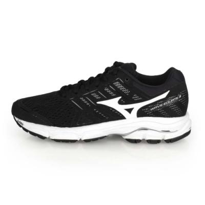 MIZUNO WAVE EQUATE 3 女慢跑鞋-路跑  黑白