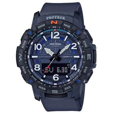 CASIO卡西歐 藍芽連結登山錶(PRT-B50-2D)