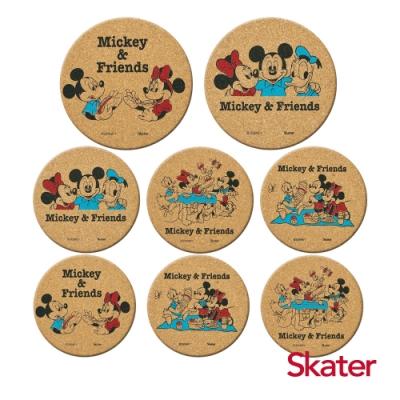 Skater杯墊2組-米奇