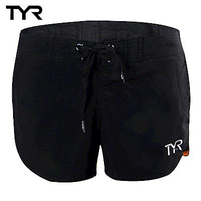 美國TYR 女款透氣排汗短褲 Solid Beach Shorts