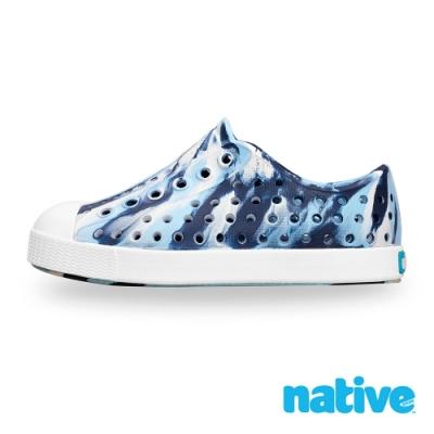 native 小童鞋 JEFFERSON 小奶油頭鞋-水洗藍