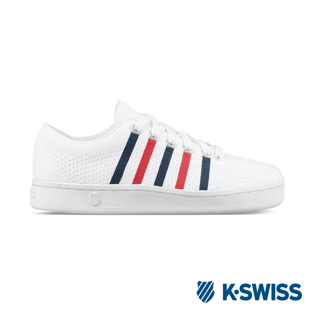 K-SWISS Classic 88 Knit時尚運動鞋-男-白/藍/紅