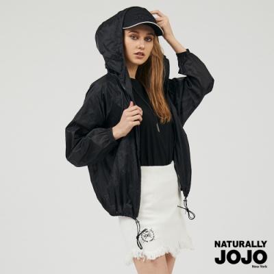 【NATURALLY JOJO】超輕量抗UV薄外套 (黑)