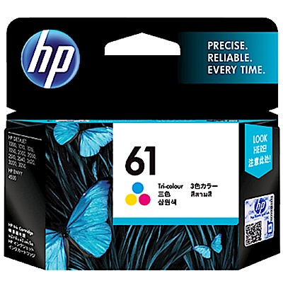 HP CH562WA #61 原廠彩色墨水匣