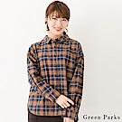 Green Parks 休閒感格紋襯衫上衣