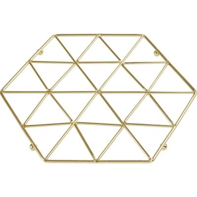 《Premier》Vertex六角金屬隔熱墊(金)