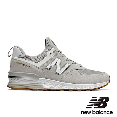 New Balance 復古鞋 MS574FCG-D 男性淺灰