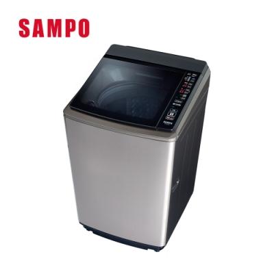[館長推薦] 福利品-SAMPO聲寶 18KG PICO PURE變頻直立式洗衣機 ES-KD19PS(S1)