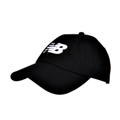 New Balance 經典 Logo帽 LAH91017BK 中性 黑