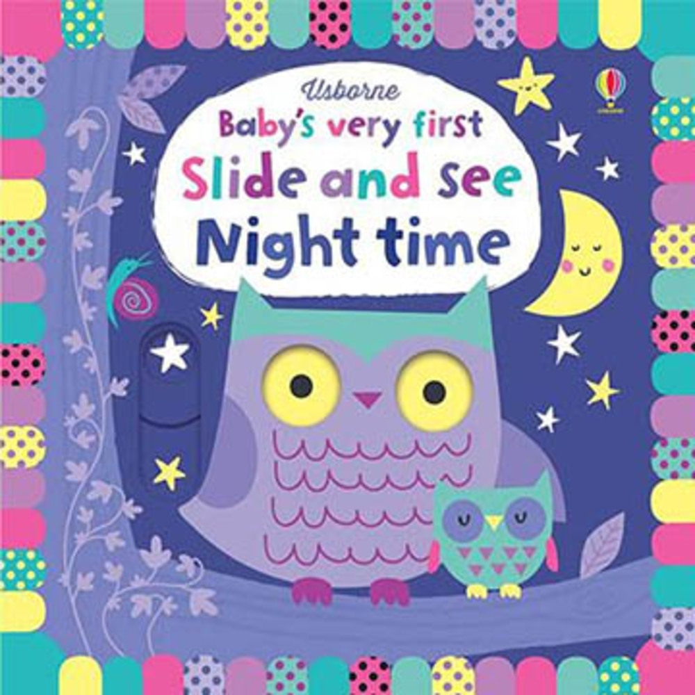 Baby's Very First Slide And See Night Time 推拉書:夜晚篇