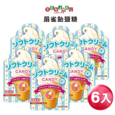 SENJAKU扇雀飴 香草味冰淇淋糖10入(50gX10入)