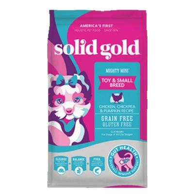 Solid gold速利高-樂活就吃雞-全齡活力超級寵糧 4LBS/1.81KG