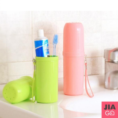 JIAGO 旅行牙膏牙刷收納盒