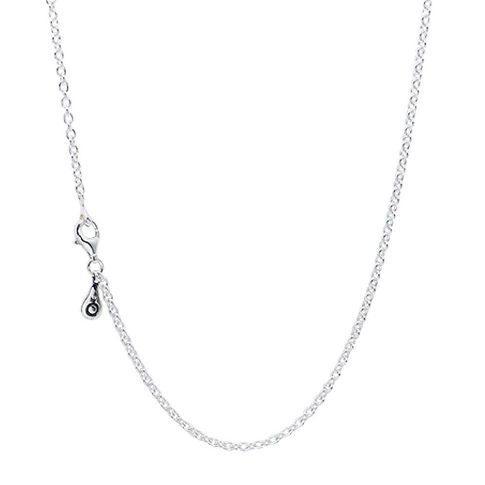 Pandora 潘朵拉 經典Silver Chain925純銀粗鍊長項鍊