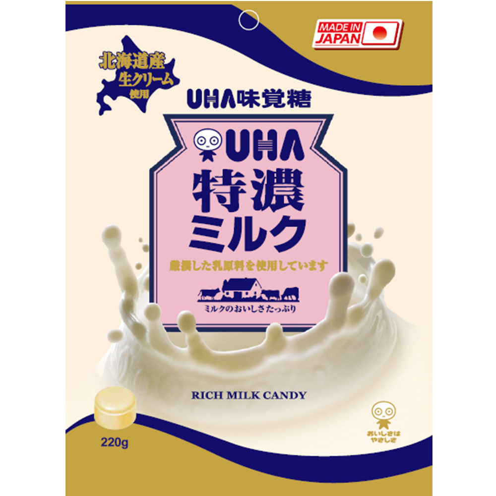 味覺糖 特濃牛奶糖(220g)