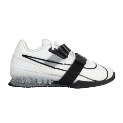 NIKE ROMALEOS 4 男舉重鞋-重量訓練 深蹲 蹲舉 CD3463101 白黑