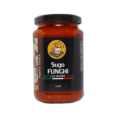 豬跳舞  番茄磨菇麵醬 義大利麵醬(350g)