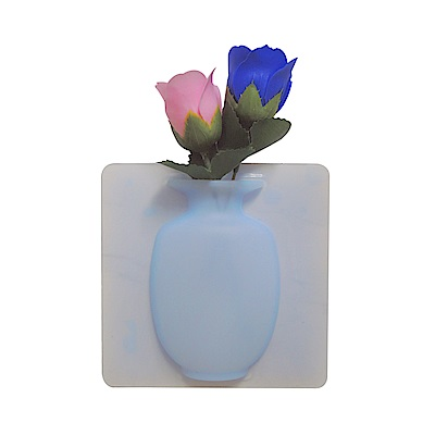 金德恩 魔術矽膠安全貼式花瓶