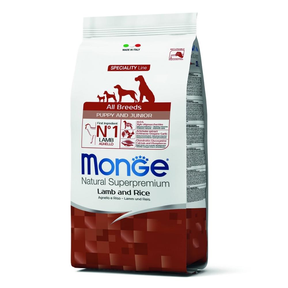 Monge Natural 天然特選 幼犬 羊肉配方 2.5KG