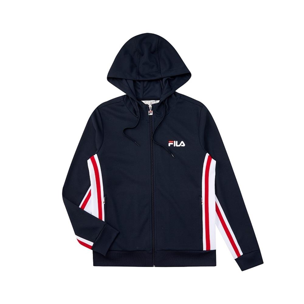 FILA 女吸濕排汗外套-丈青 5JKV-1490-NV