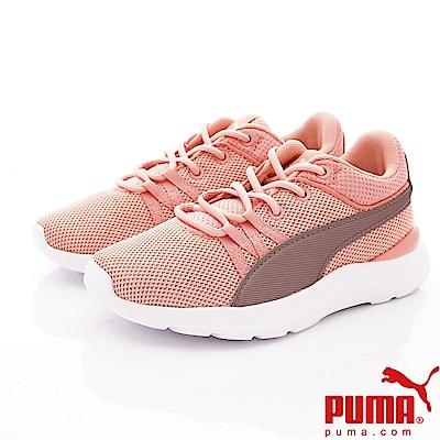 PUMA童鞋 綁帶運動款 TH69089-02粉(中小童段)