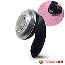 日本TESCOM 充電式 衣物毛球去除機 電動除毛球機 不鏽鋼大口徑-5.1cm(黑色)