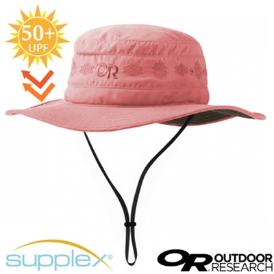 Outdoor Research Solar Roller Sun Hat 超輕防曬抗UV透氣可調可收折中盤帽子(UPF 50+).圓盤帽_石英粉