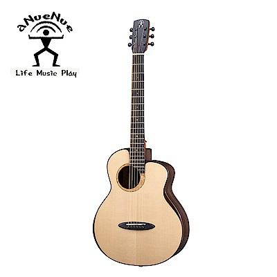[無卡分期-12期] aNueNue M200E 飛鳥 全單電木吉他 月亮雲杉印度玫瑰木