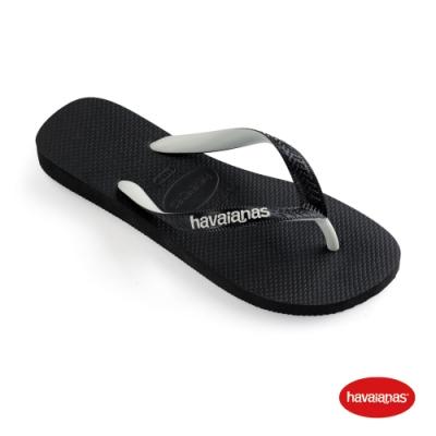 Havaianas 哈瓦仕 拖鞋 夾腳拖 人字拖 雙色鞋帶 巴西 男鞋 女鞋 黑 4115549-1069U Top Mix