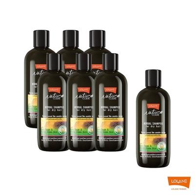 [時時樂限定] LOLANE 專利舒敏髮浴超值7瓶組 (保濕/控油)