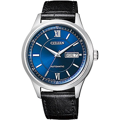 CITIZEN 星辰錶 PAIR系列 限量機械男錶-藍40mm(NY4050-03L)