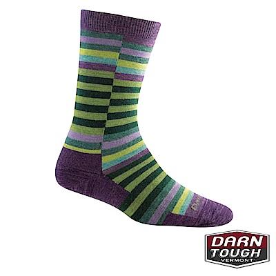 【美國DARN TOUGH】女羊毛襪OFFSET生活襪(2入隨機)