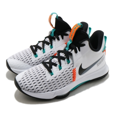 Nike 籃球鞋 LeBron Witness V 男鞋 明星款 避震 包覆 運動 球鞋 LBJ 白 綠 CQ9381100