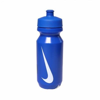 Nike 水壺 Big Mouth Bottle 2 男女款 大嘴巴 單車 健身 重訓 日常用 藍 白 N000004240822