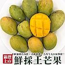 買5送5【天天果園】鮮採土芒果(每斤約5-7顆)共10斤