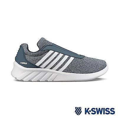 K-SWISS Aeronaut Slip-On休閒運動鞋-女-灰/藍