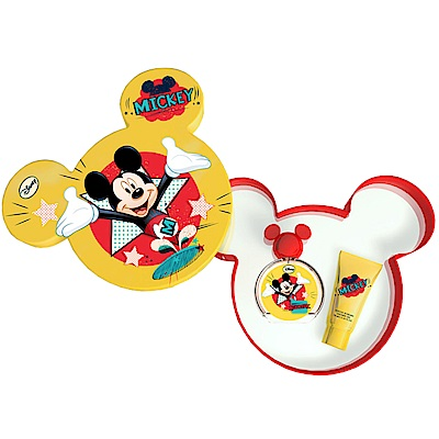 Disney迪士尼米奇淡香水禮盒(淡香水50ml+沐浴膠75ml)