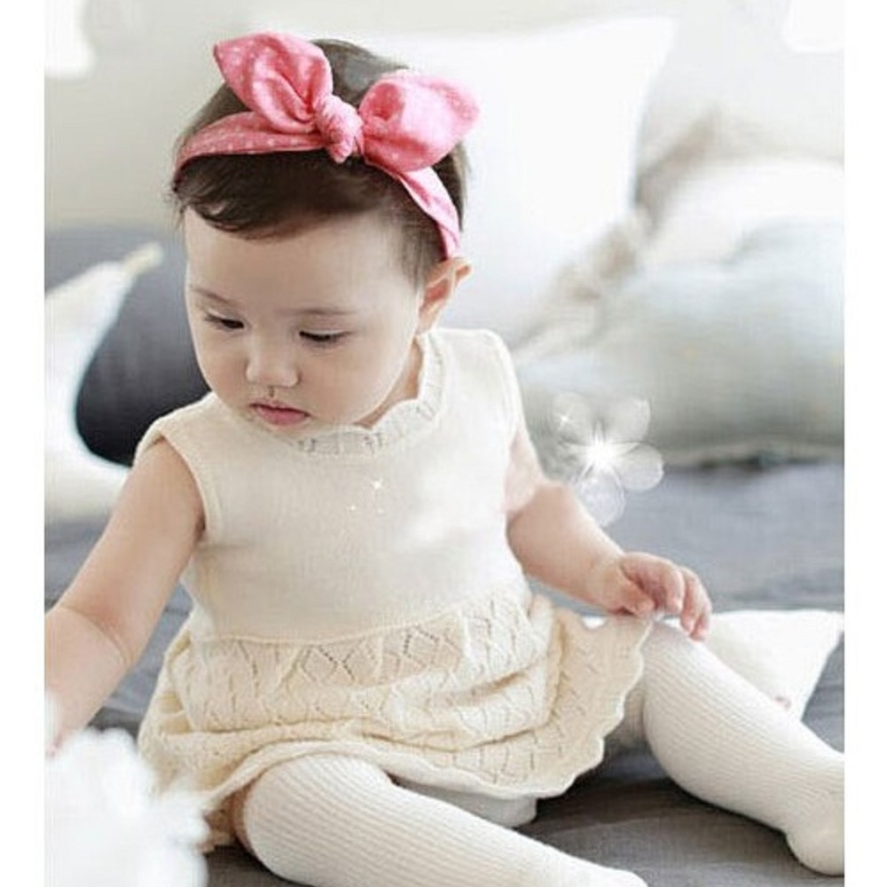 Baby童衣 寶寶頭飾 百搭蝴蝶結髮帶 88185