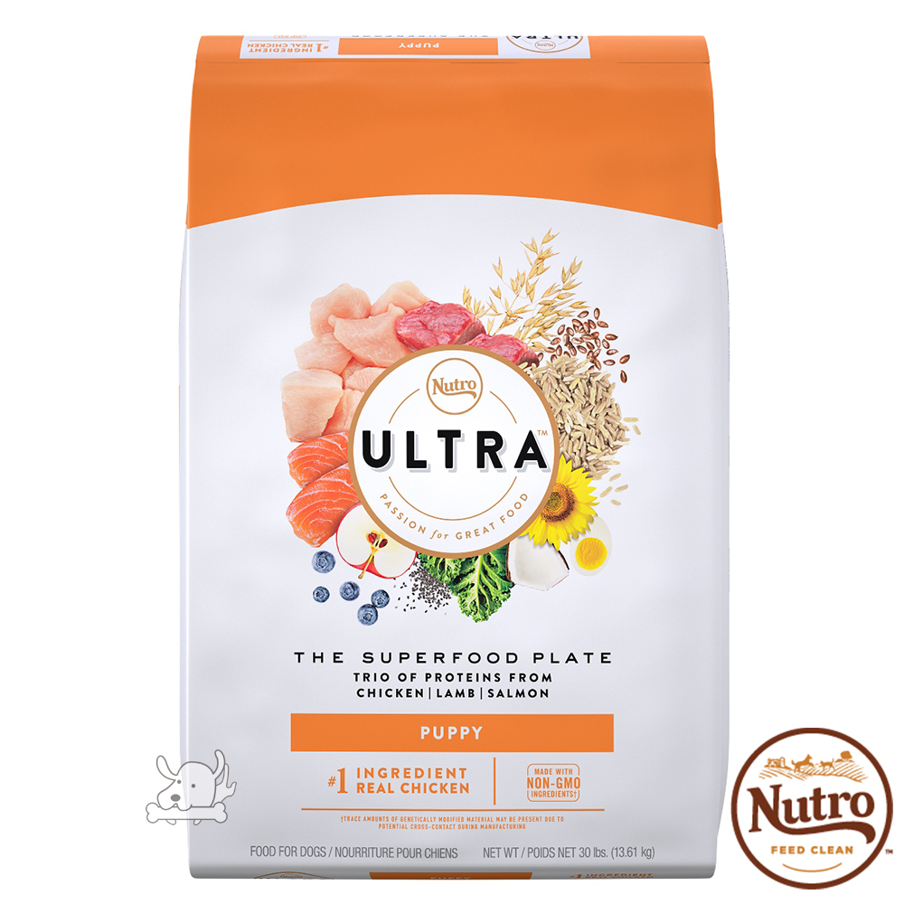 【Nutro 美士】Ultra 大地極品 幼犬呵護 配方 犬糧 30磅 X 1包