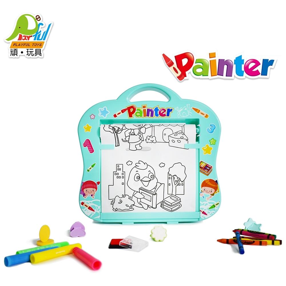 Playful Toys 頑玩具 捲軸著色板